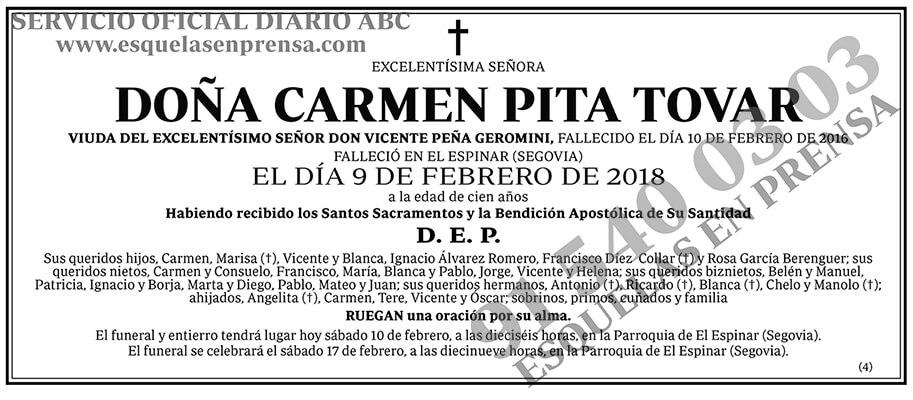 Carmen Pita Tovar